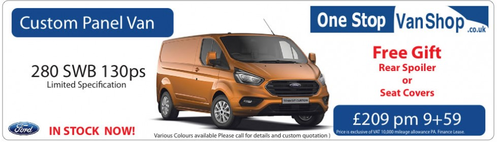 New Ford Custom Special offers